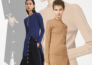 Elegant Metal -- 20/21 A/W Accessories Trend for Women's Knitwear