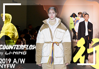 Chen Peng X Li-Ning Collection in New York Fashion Show