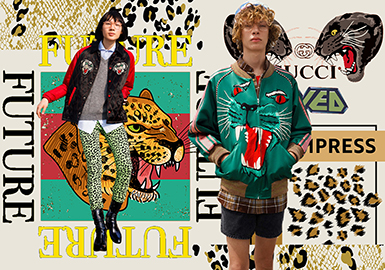 Leopard -- 2020 Pre-Fall Pattern Trend for Menswear