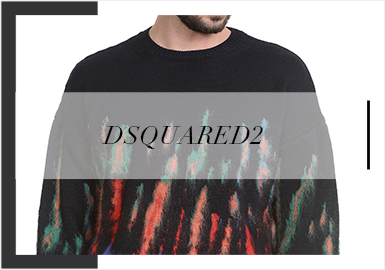 Dsquared2 -- 19/20 A/W Analysis of Trunk Show of Men's Knitwear