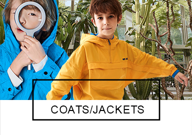 Coat -- 2019 S/S Analysis of Benchmark Brands of Boy's Wear