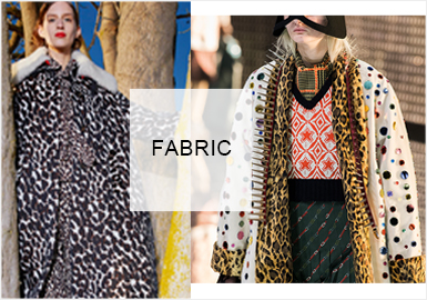 Animal Prints -- 20/21 A/W Fabric Trend for Overcoats