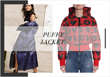 Colorful and Warm Winter -- 19/20 A/W Analysis of Padded Coat&Down Jacket at the Trunk show for Womenswear