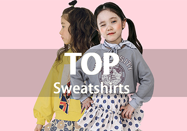 Sweatshirt -- 19 S/S Recommended Hot Items in the Girl's Wear Market