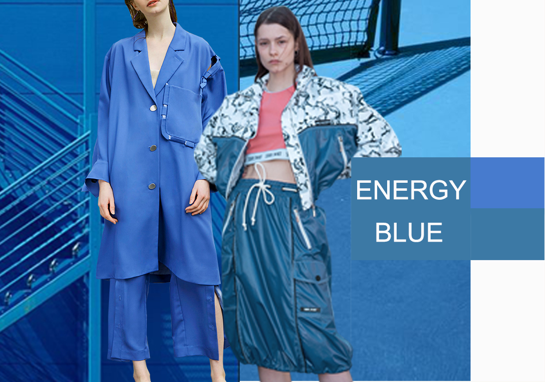 Dresden Blue -- 2020 S/S Color Trend for Women's Suits