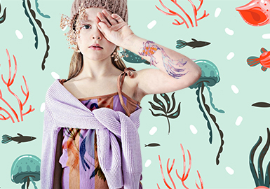 Deep Sea -- 2020 S/S Theme Trend for Girl's Wear