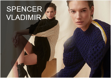 Spencer Vladimir -- 19/20 A/W Designer Brands for Women's Knitwear