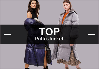 Puffer Coats -- 2019 Resort  Analysis of Hot Items in the Womenswear Market