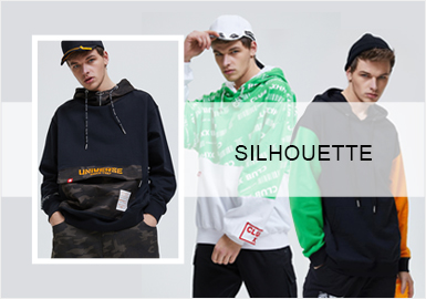 Fashionable Sweatshirt -- 20/21 A/W Silhouette Trend for Menswear