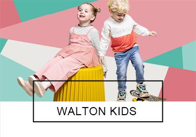 Walton Kids -- 2019 S/S Benchmark Brand for Kidswear