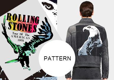 Eagle -- 20/21 A/W Pattern Trend for Menswear