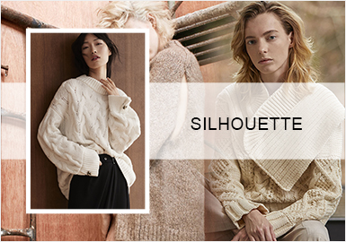 Simple Industrial Style -- A/W 20/21 Silhouette Trend of Women's Knitwear&Pullover