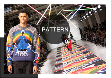 Prevalent Patterns -- A/W 19/20 Analysis of Catwalks for Men's Knitwear