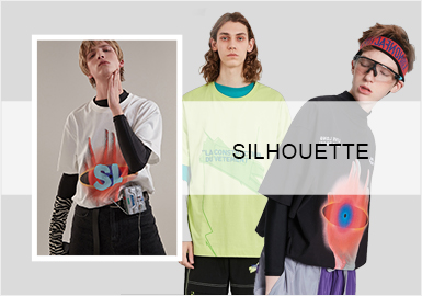 T-Shirt with Midi Sleeves -- S/S 2020 Silhouette Trend for Menswear