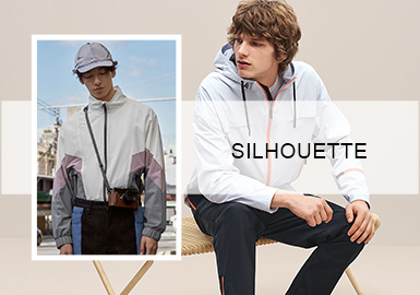 Light Sports Jackets -- S/S 2020 Silhouette Trend for Menswear