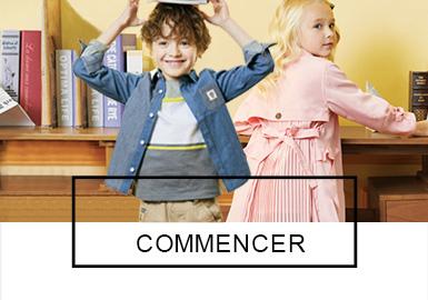 COMMENCER -- S/S 2019 Benchmark Brand for Kidswear