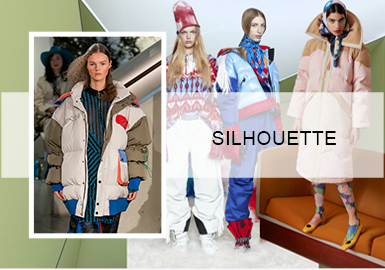 Stylish Puffa – 2021 A/W Silhouette Trend for Womenswear