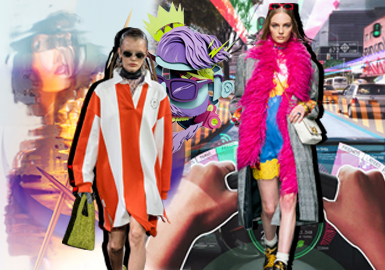Awakening • Ready Player One -- 19/20 A/W Color Trend Confirmation for Womenswear