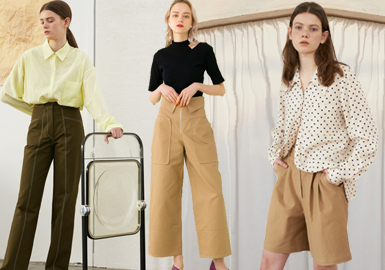 Novel Pants -- S/S 2019 Analysis of Womenswear Designer Brands' Pants
