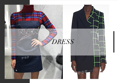 Dress -- A/W 19/20 Analysis of Womenswear in Trunk Shows
