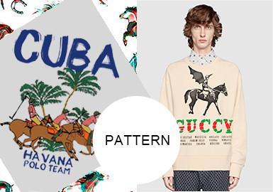 Horse -- A/W 20/21 Pattern Trend for Menswear