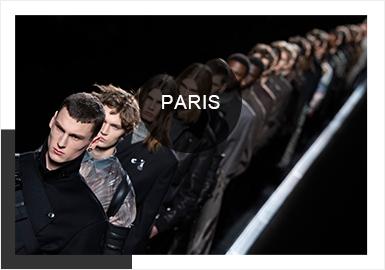 Paris -- A/W 19/20 Analysis of Catwalks for Menswear