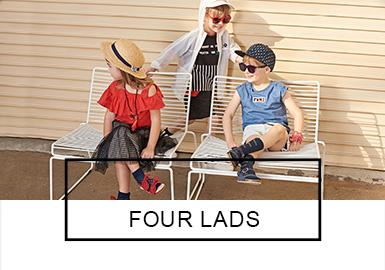 Four Lads -- S/S 2019 Benchmark Brand for Kidswear