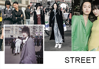 Rebellious -- A/W 19/20 Analysis of Street Snaps In Seoul Fashion Week