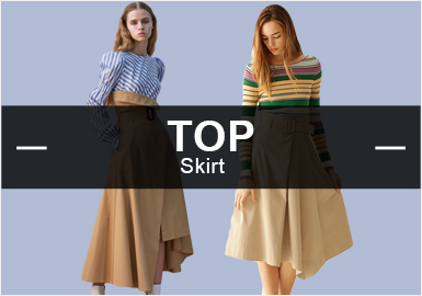 Skirts -- Analysis of S/S 2019 Popular Items in Womenswear Markets