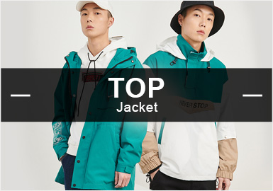Jacket -- S/S 2019 Popular Items in Menswear Markets