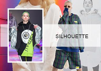Reshape Sweatshirts -- A/W 20/21 Sweatshirt Silhouette Trend for Womenswear