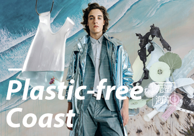 Plastic-Free Coast -- Design&Development of S/S 2020 Menswear Themes