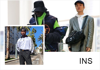 INS Fashion Bloggers -- Mixing and Matching