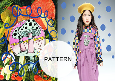 Autumn Mushrooms --A/W 20/21 Pattern Trend for Kidswear