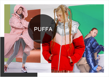 Puffer Coats -- Comprehensive Analysis of A/W 19/20 Catwalks in Shanghai Fashion Week