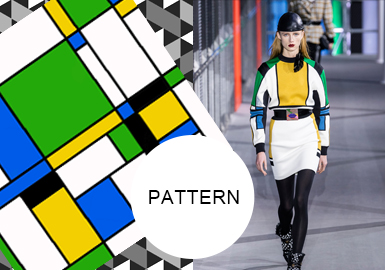 Abstract Geometrics -- A/W 20/21 Pattern Trend for Womenswear