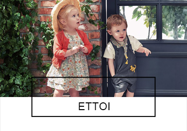 ETTOI -- S/S 2019 Benchmark Brands for Babies