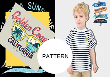 Vibrant Coasts -- S/S 20/21 Pattern Trend for Kidswear