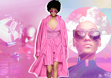 Super Pink -- S/S 2020 Theme Color Trend for Womenswear