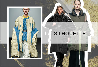 Renewed Warmth -- A/W 20/21 Silhouette Trend for Women's Puffer Coats