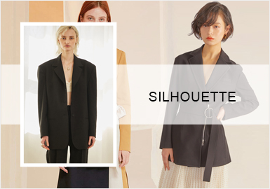 Diversified Blazers -- Pre-Fall 20/21 Silhouette Trend for Womenswear