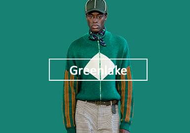 Greenlake -- A/W 20/21 Color Trend for Men's Knitwear