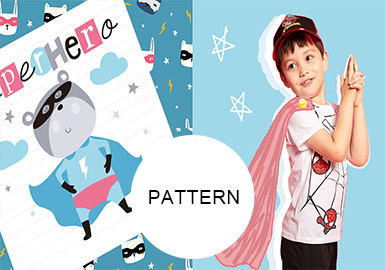 Little Heroes -- Pattern Trend for Kidswear