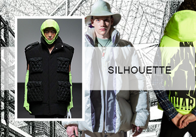 Statement Puffa Jackets -- Silhouette Trend of Men's Puffa Jackets