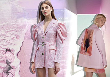 Aegean Sea Pink -- S/S 2020 Theme Color Trend for Womenswear