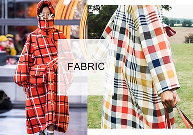 Varied Checks -- Fabrics&Accessories Trend  A/W 20/21 Women's Overcoats