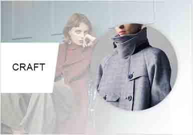 Special Cut -- Craft Trend for Women's Overcoats
