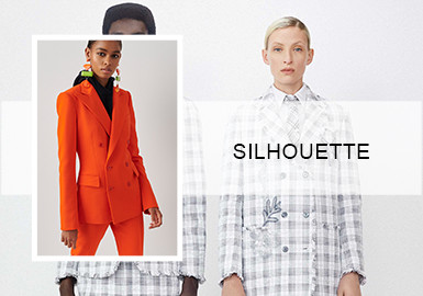 Mixing -- Silhouette Trend of Women's Suits