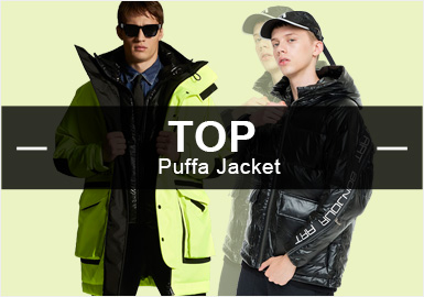 Puffa Jackets -- Popular Items in Menswear Markets