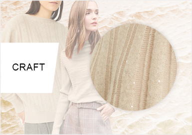 Delicate Space -- Craft Trend for Women's Knitwear